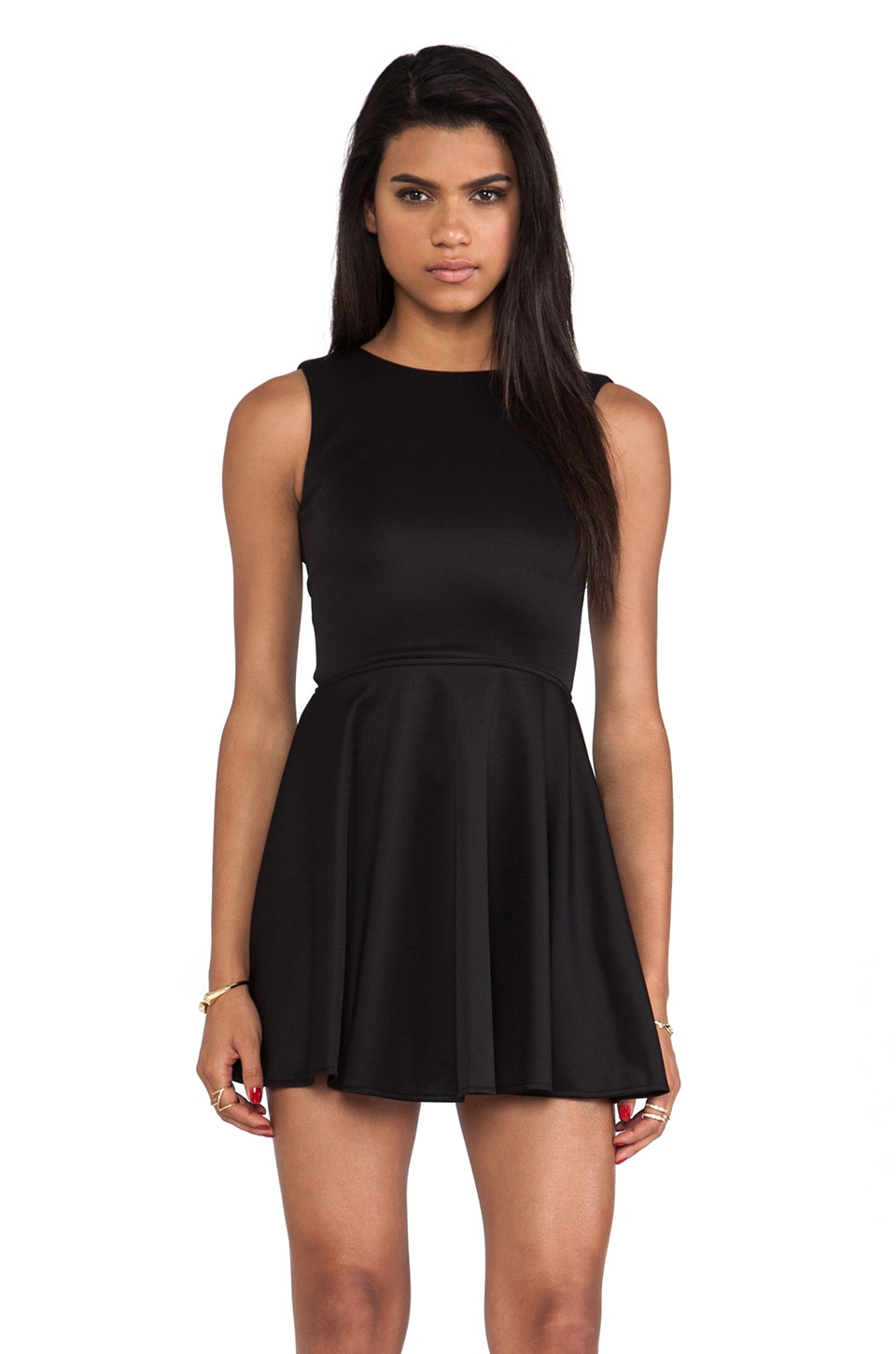 Boulee Avery Tank Dress in Black
