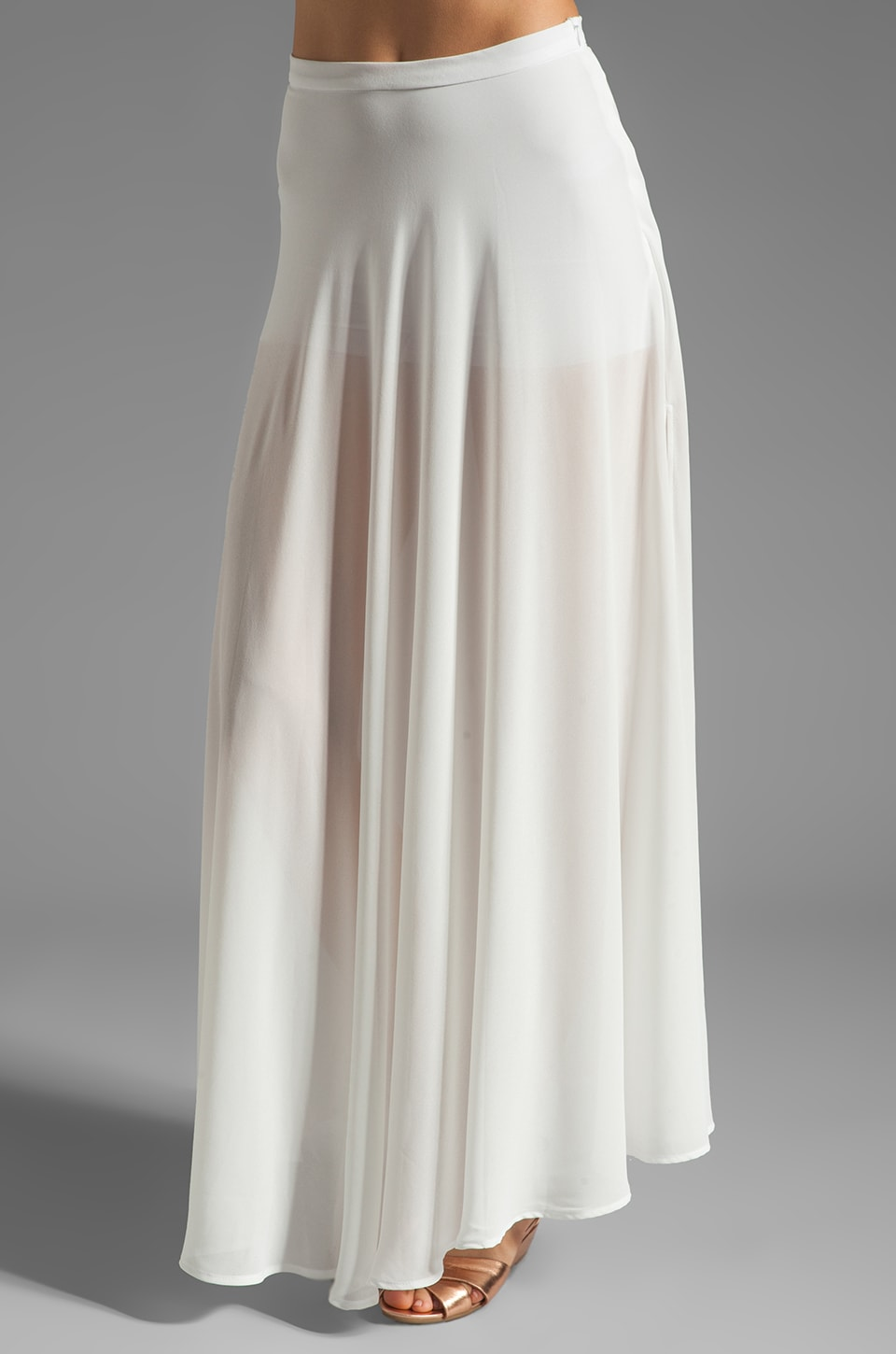 Boulee Floriana Skirt in Off White