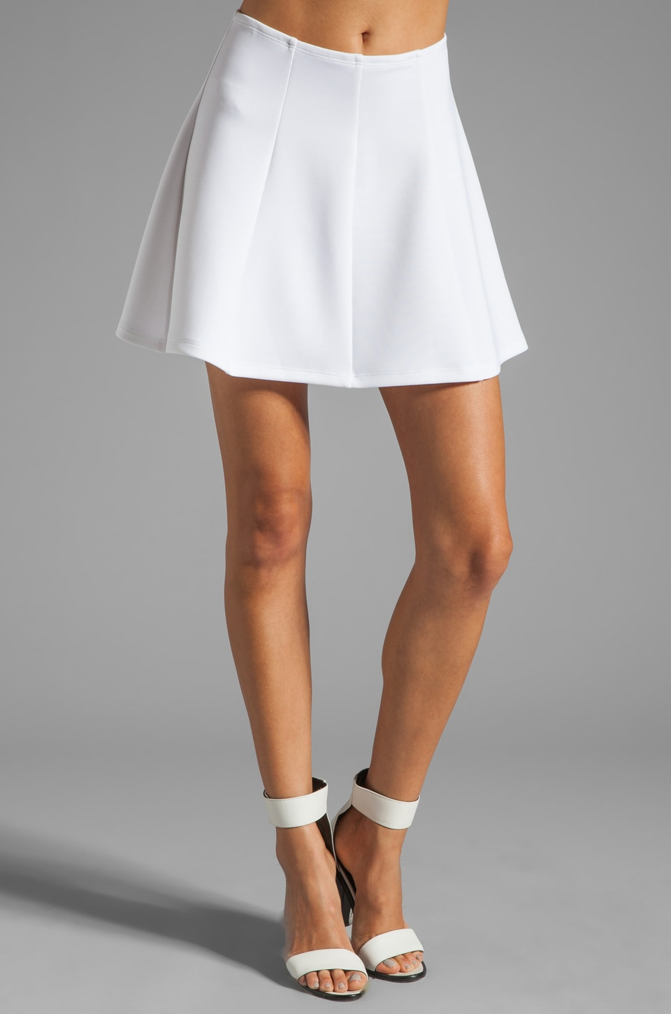 Boulee Luke Skirt in White