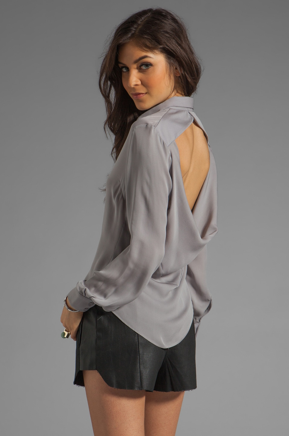 Boulee Tasha Top in Grey