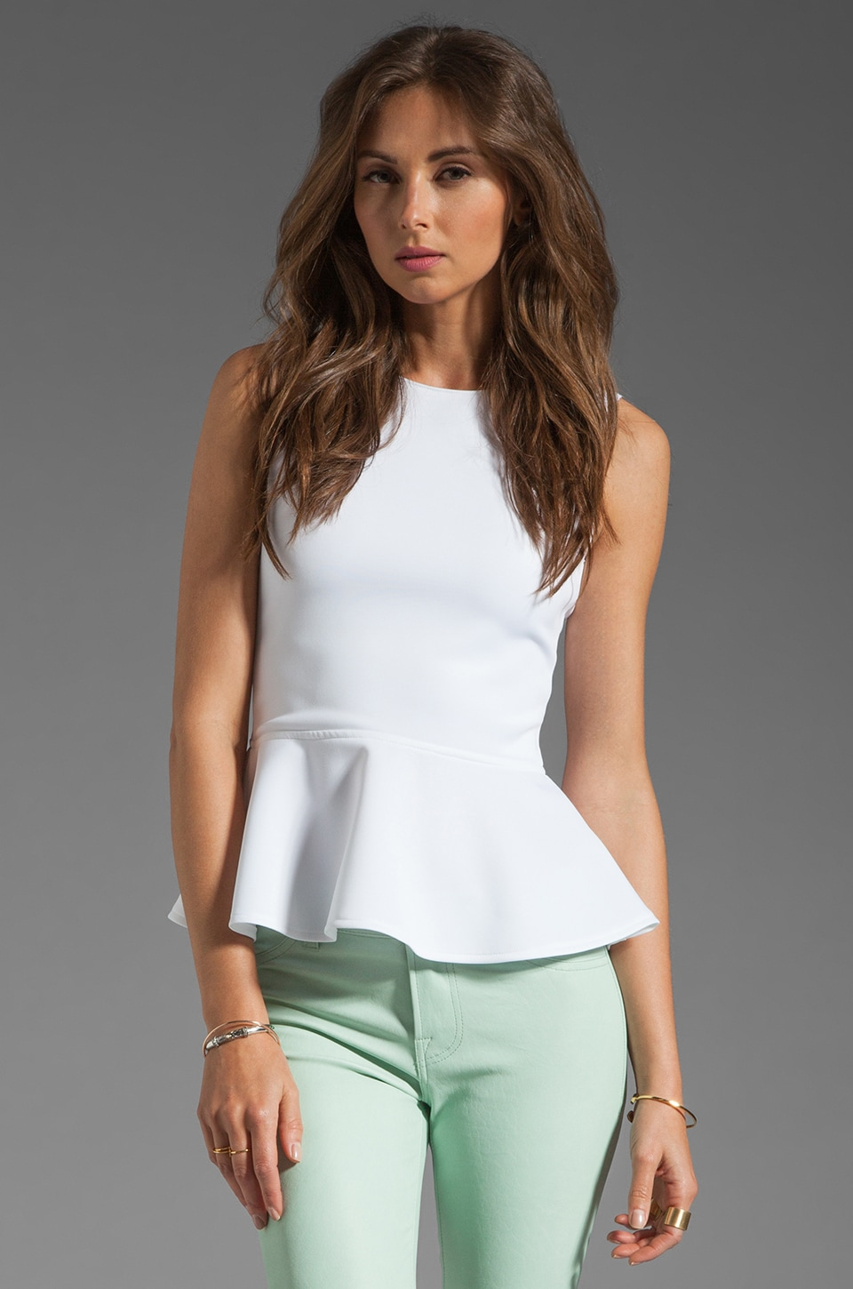 Boulee Avery Top in White