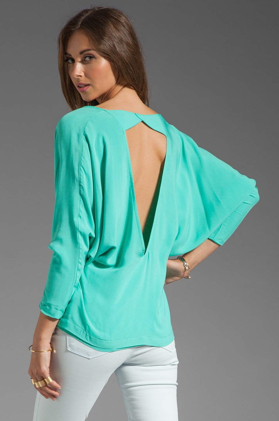 Boulee Skylar Blouse in Mint