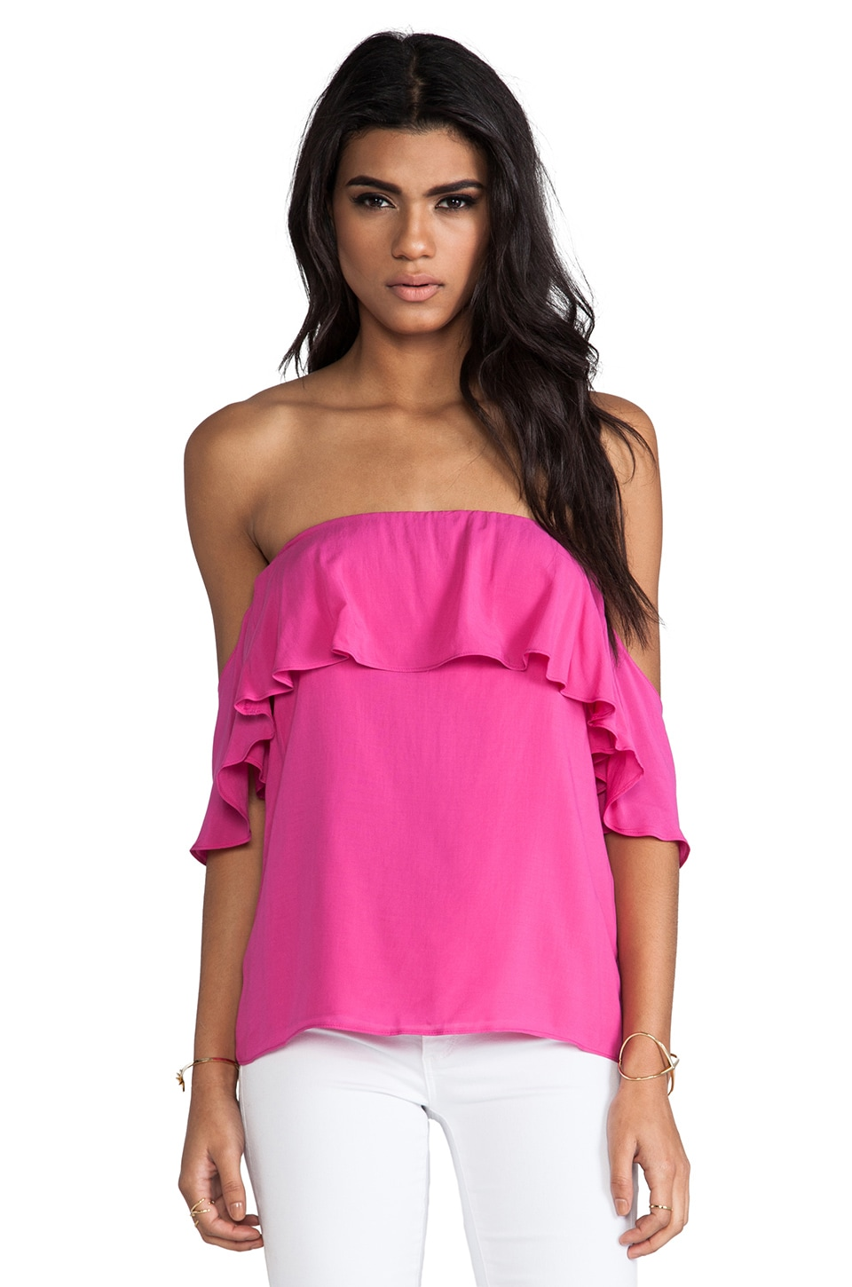 Boulee Emily Top in Mixed Pink