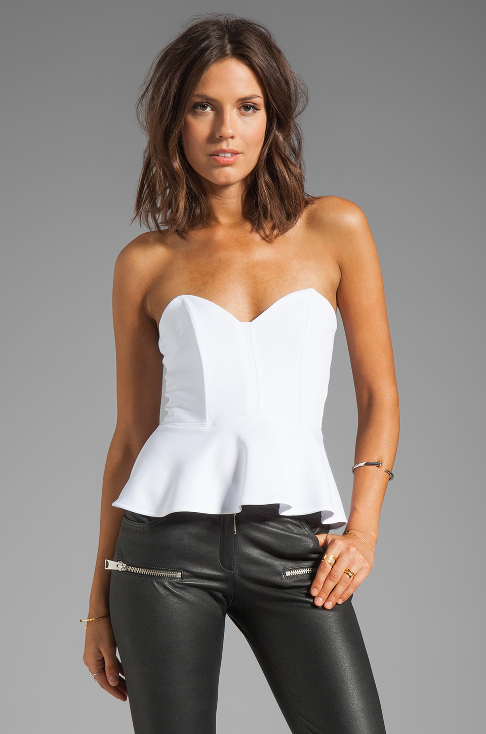 Boulee Gia Top in White