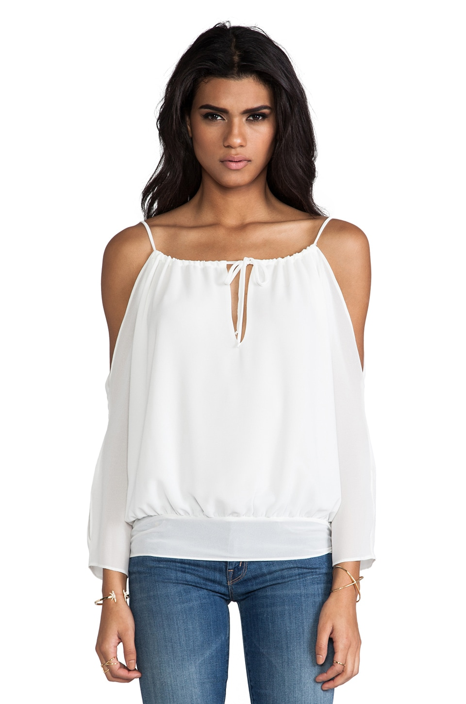 Boulee Liana Top in White
