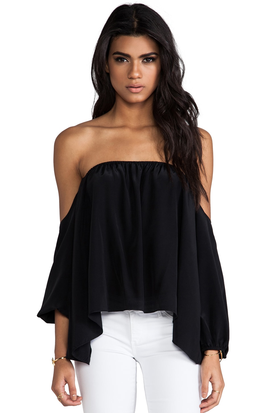 Boulee Audrey Top in Black