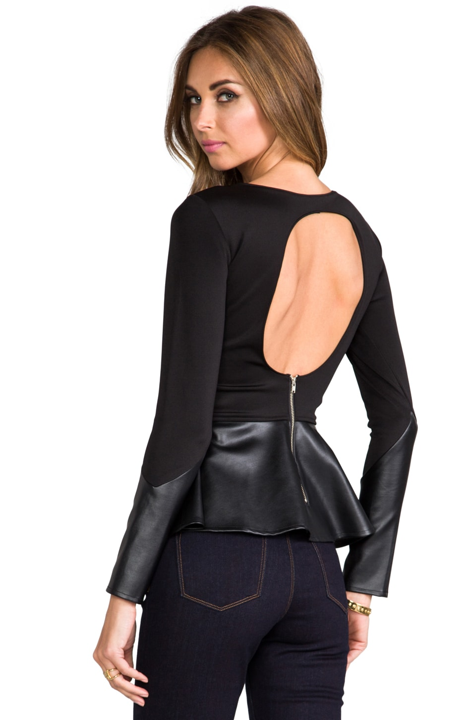 Boulee Avery Top in Black