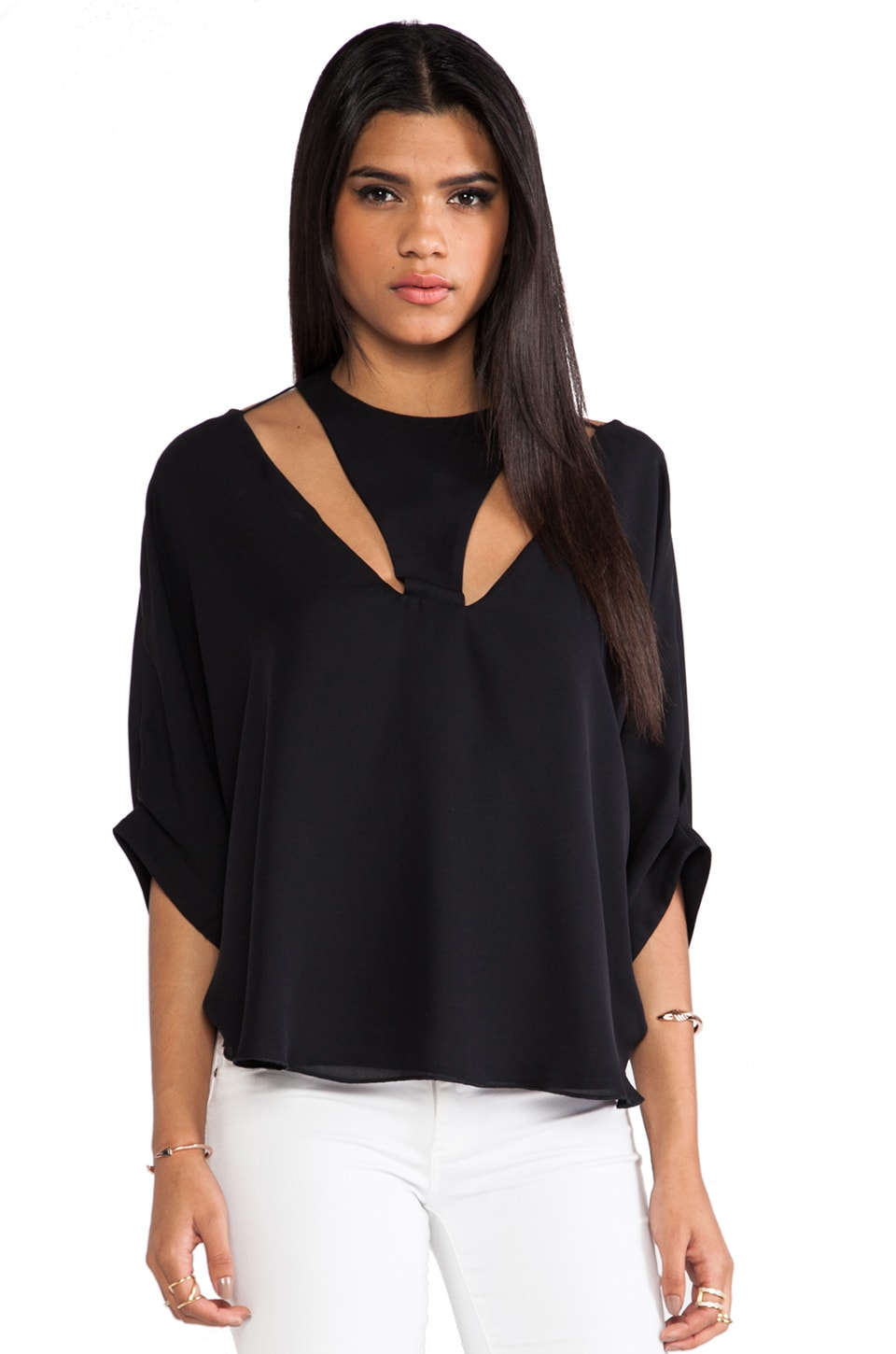 Boulee Simone Top in Black
