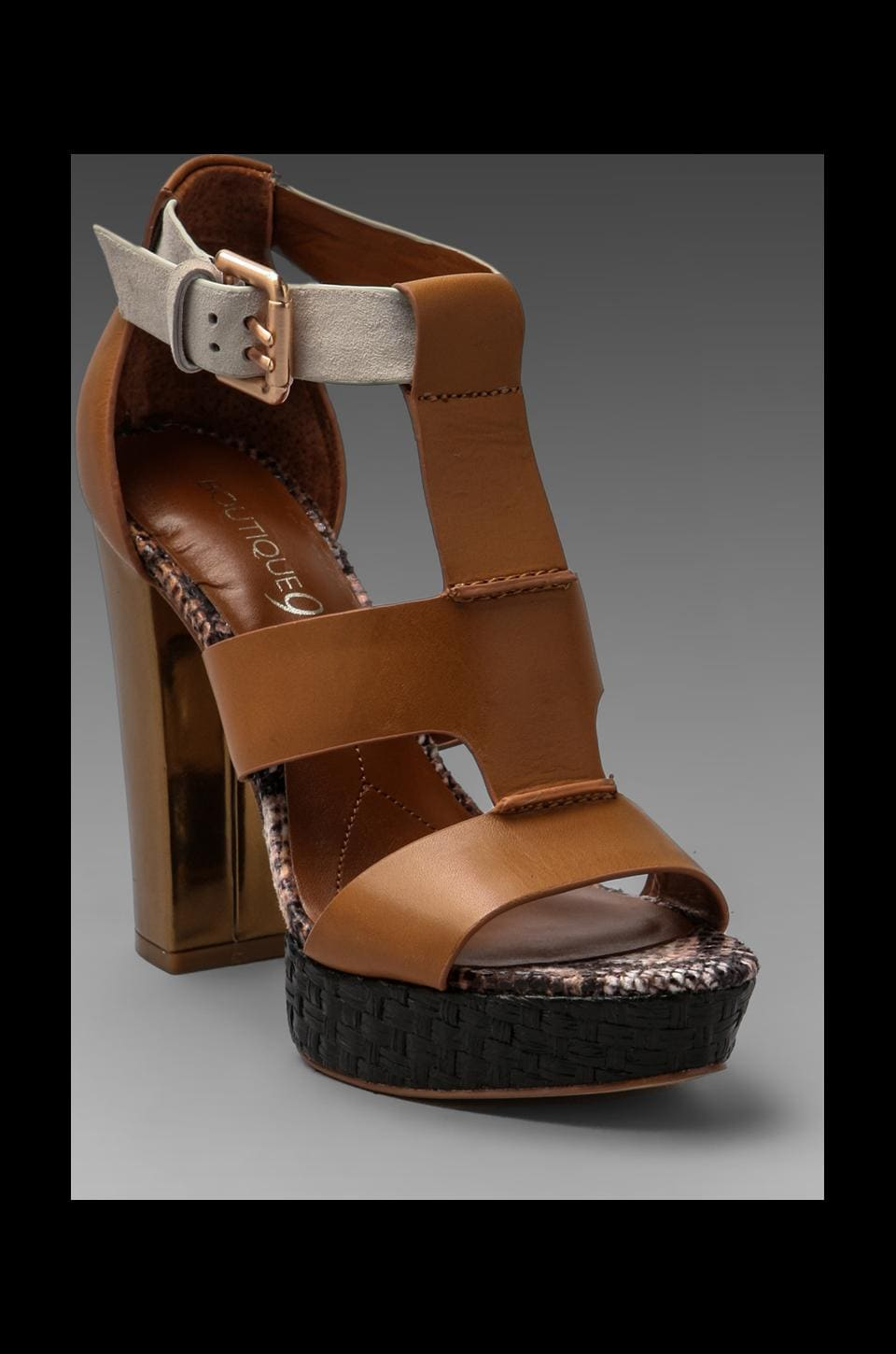 Boutique 9 Rivington Heel in Light Brown