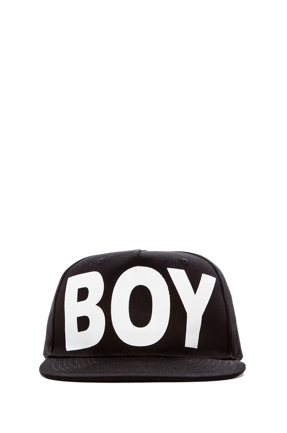 BOY London Boy Cap in Black/ White