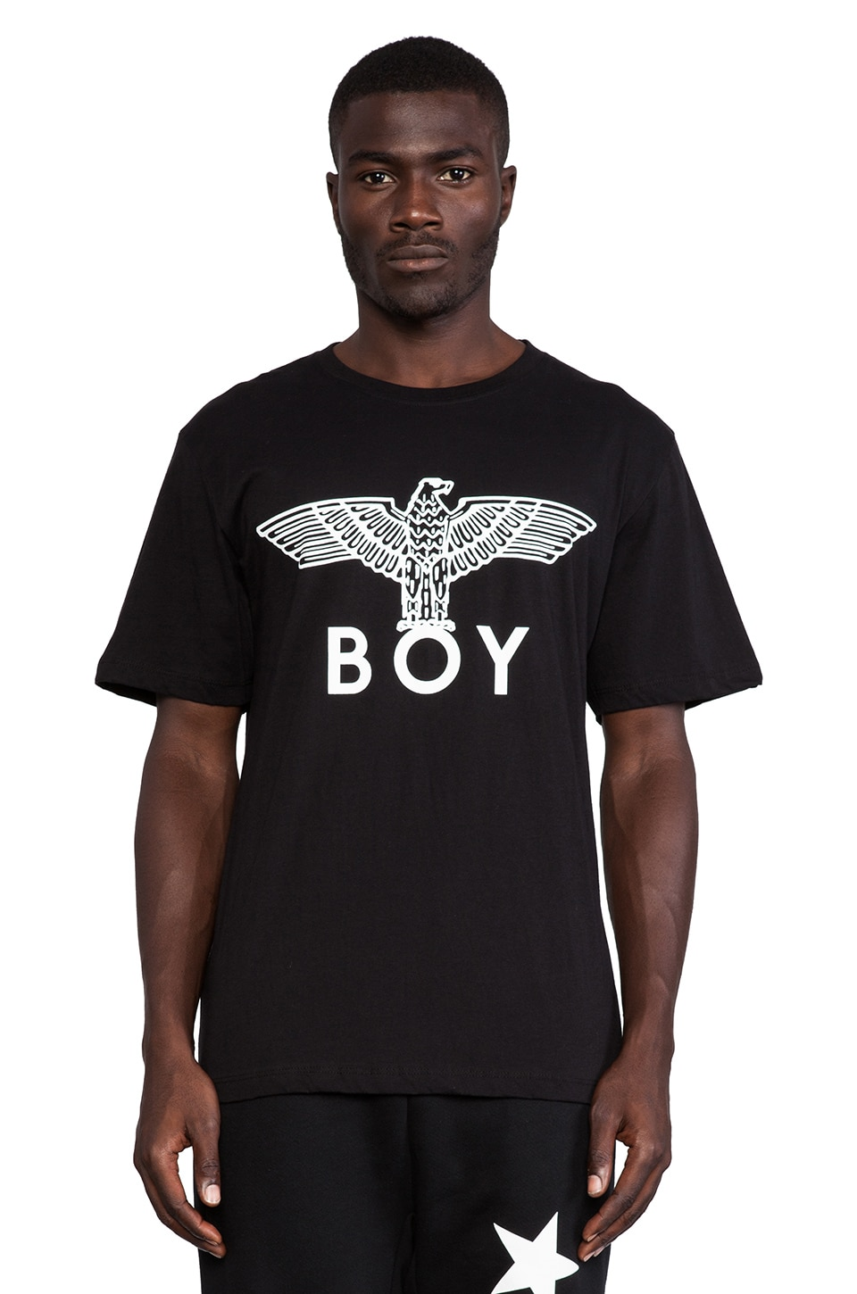 BOY London Eagel Boy Tee in Black
