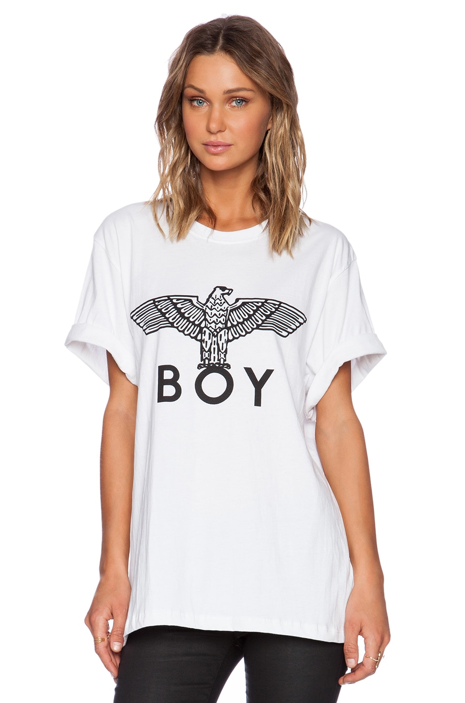 BOY London Eagle BOY Tee in White