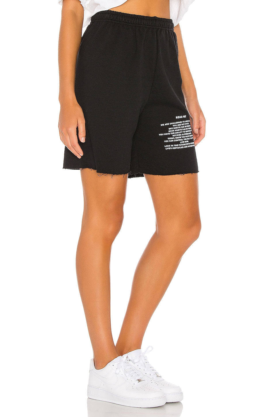 Read Me V2 Sweatshorts, view 2, click to view large image.