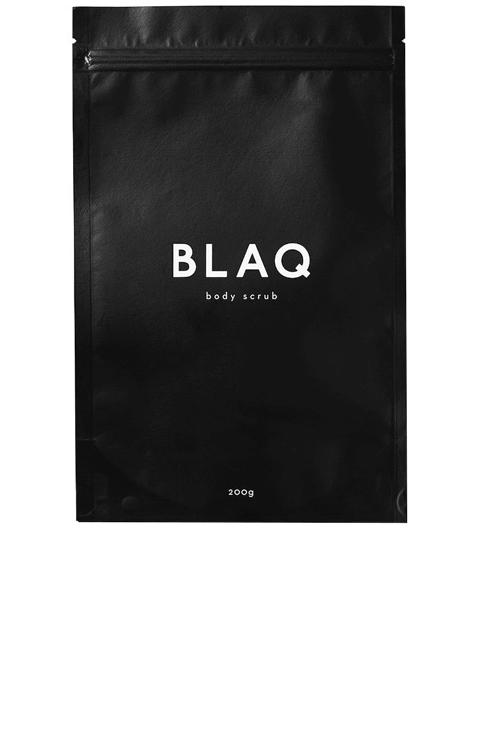 BLAQ Activated Charcoal Body Scrub in N/A