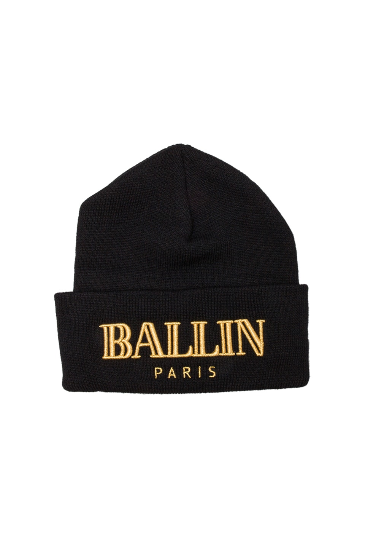 Brian Lichtenberg Ballin Beanie in Black & Gold
