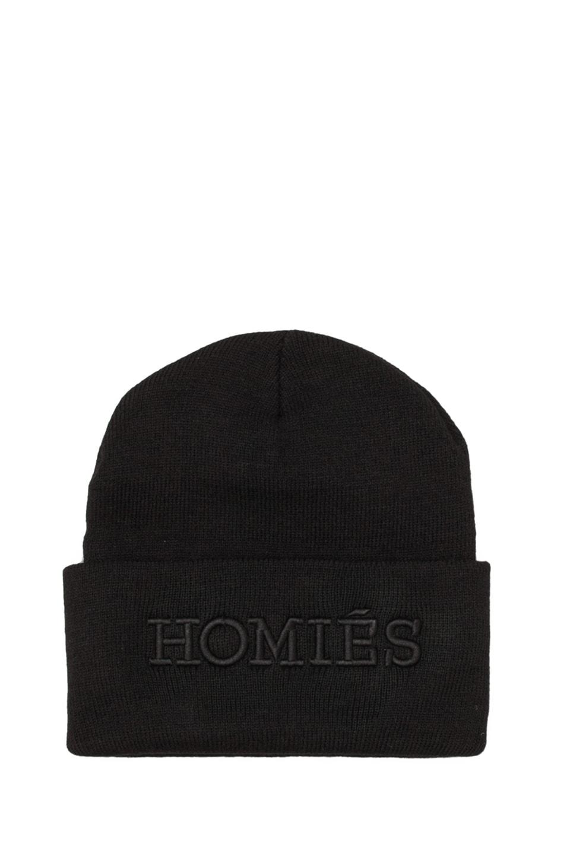 Brian Lichtenberg Homies Beanie in Black/Black