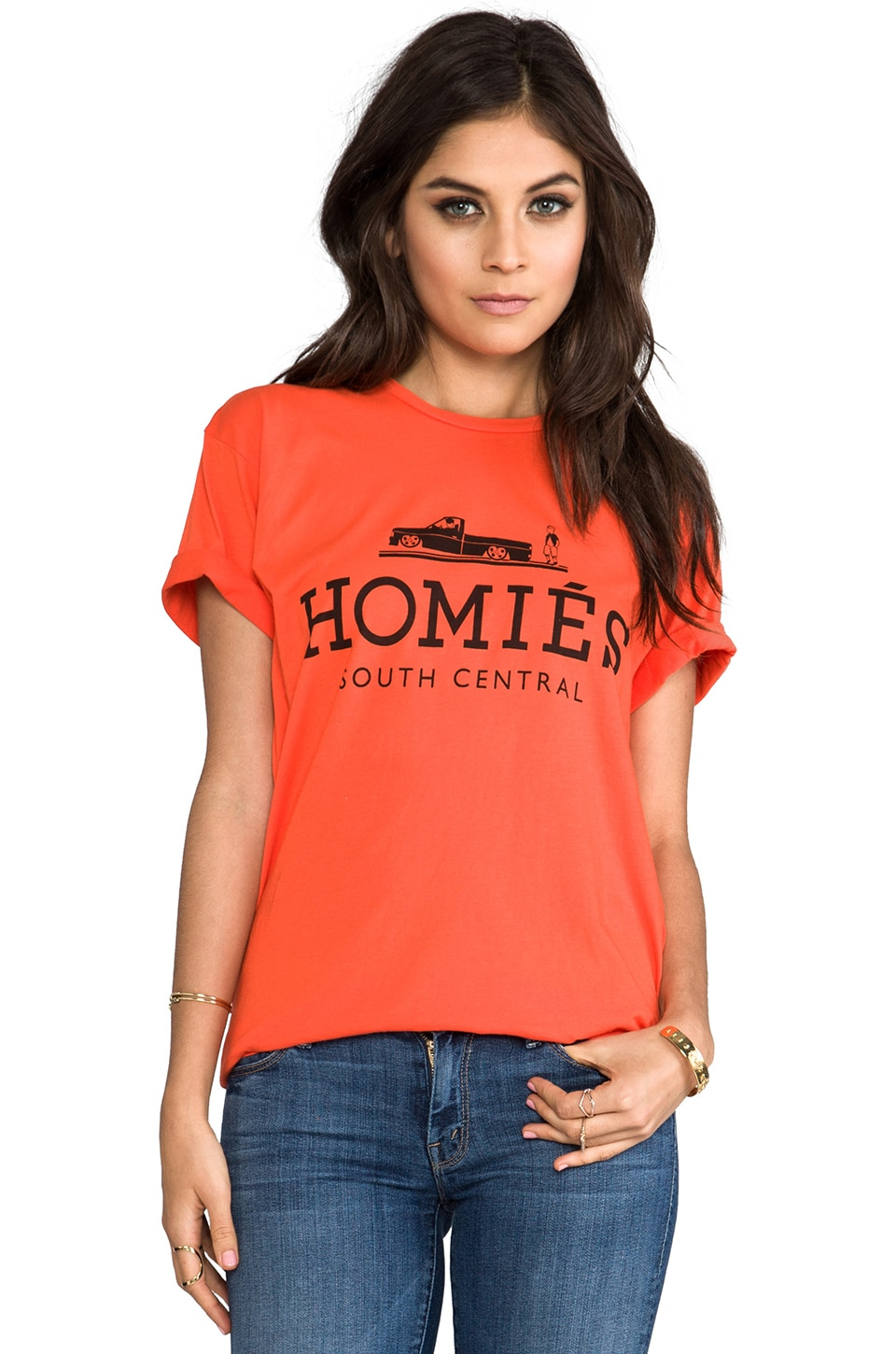 Brian Lichtenberg T-shirt Homies en Orange