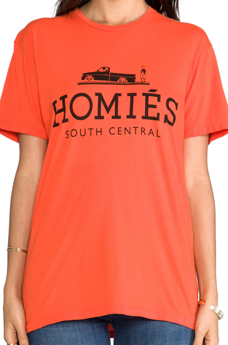 Brian Lichtenberg Homies Tee in Orange