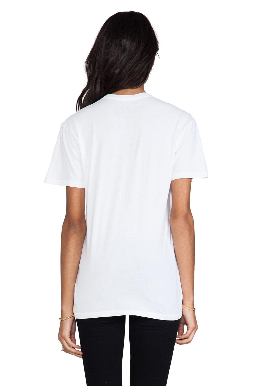 Brian Lichtenberg T-shirt Feline en Blanc/Noir