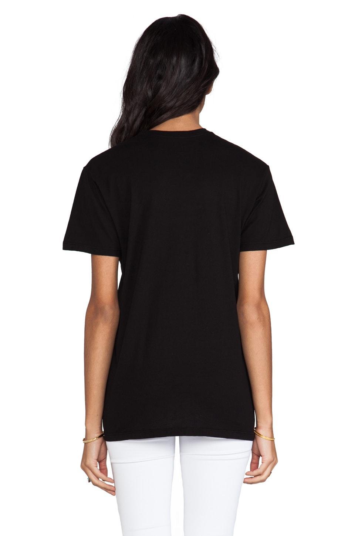 Brian Lichtenberg Homies Unisex Short Sleeve Tee in Black/ Black Foil