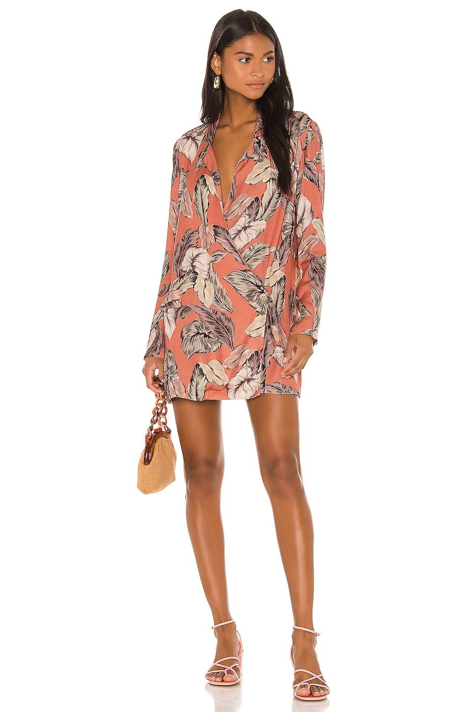 BEACH RIOT Benny Blazer Dress in Palm