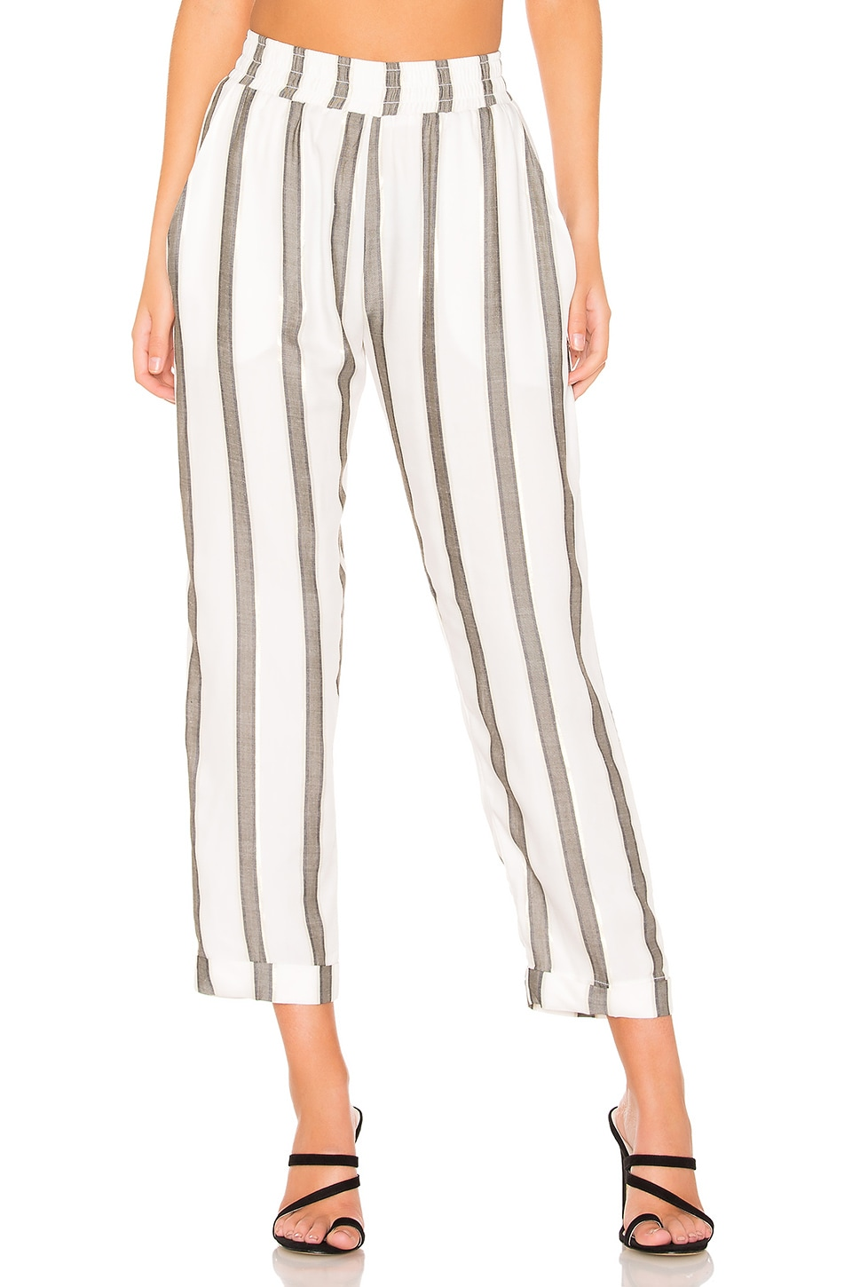 BEACH RIOT Avery Pant in Stripe