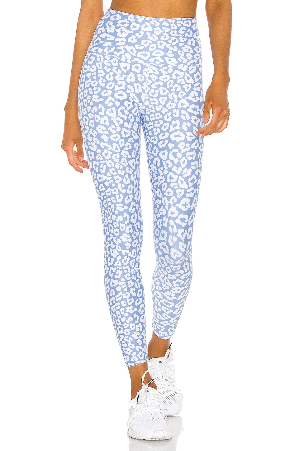 BEACH RIOT Piper Legging in Blue Leopard