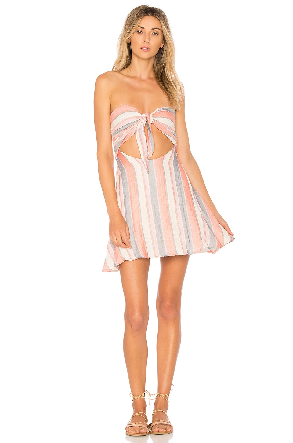 Taylor Dress in Pink. - size L (also in M,XS) Beach Riot