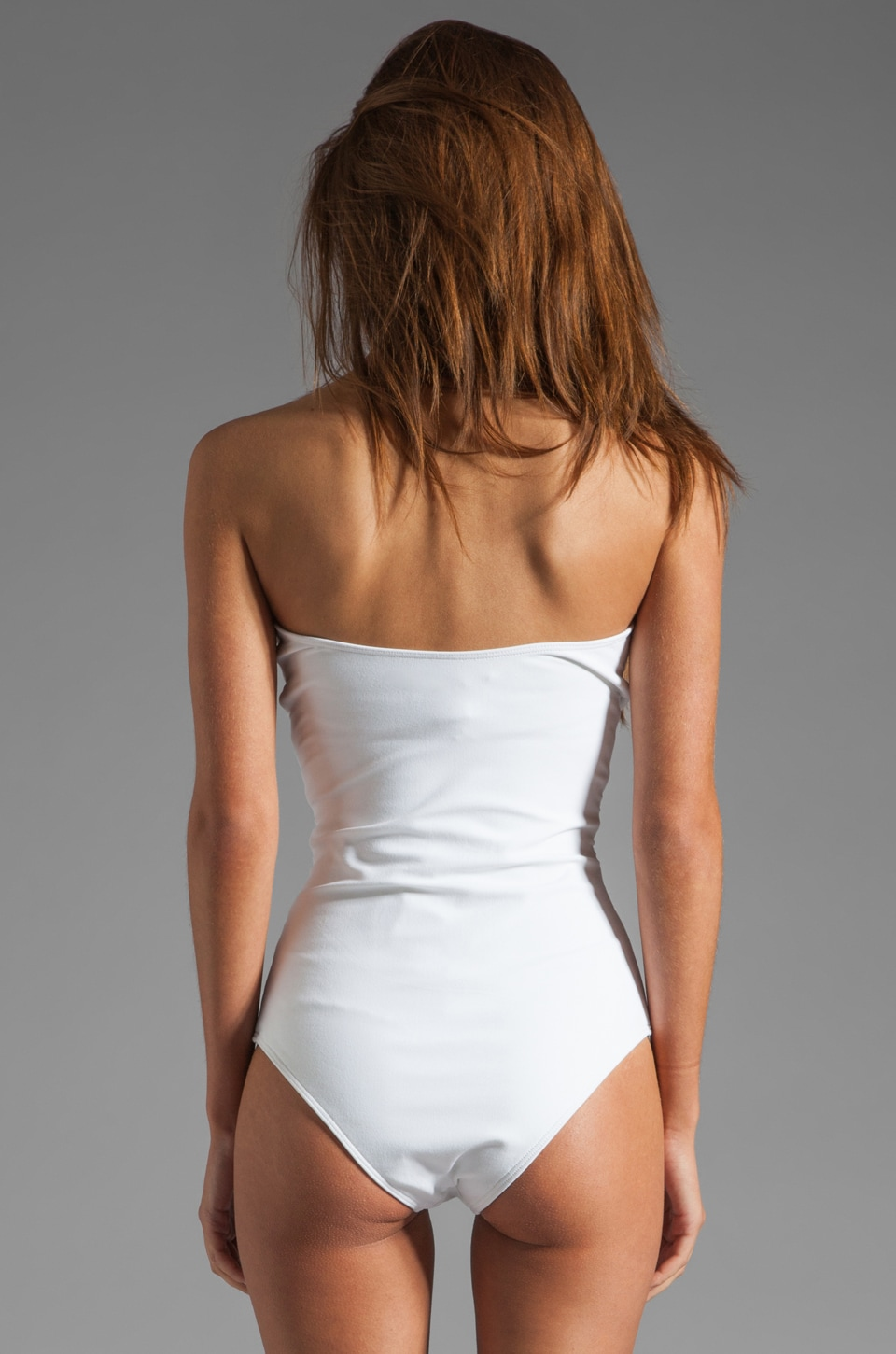 BEACH RIOT // STONE_COLD_FOX Gally Cook One Piece in White