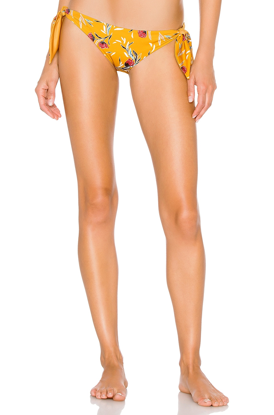 BEACH RIOT Jacey Bottom in Yellow