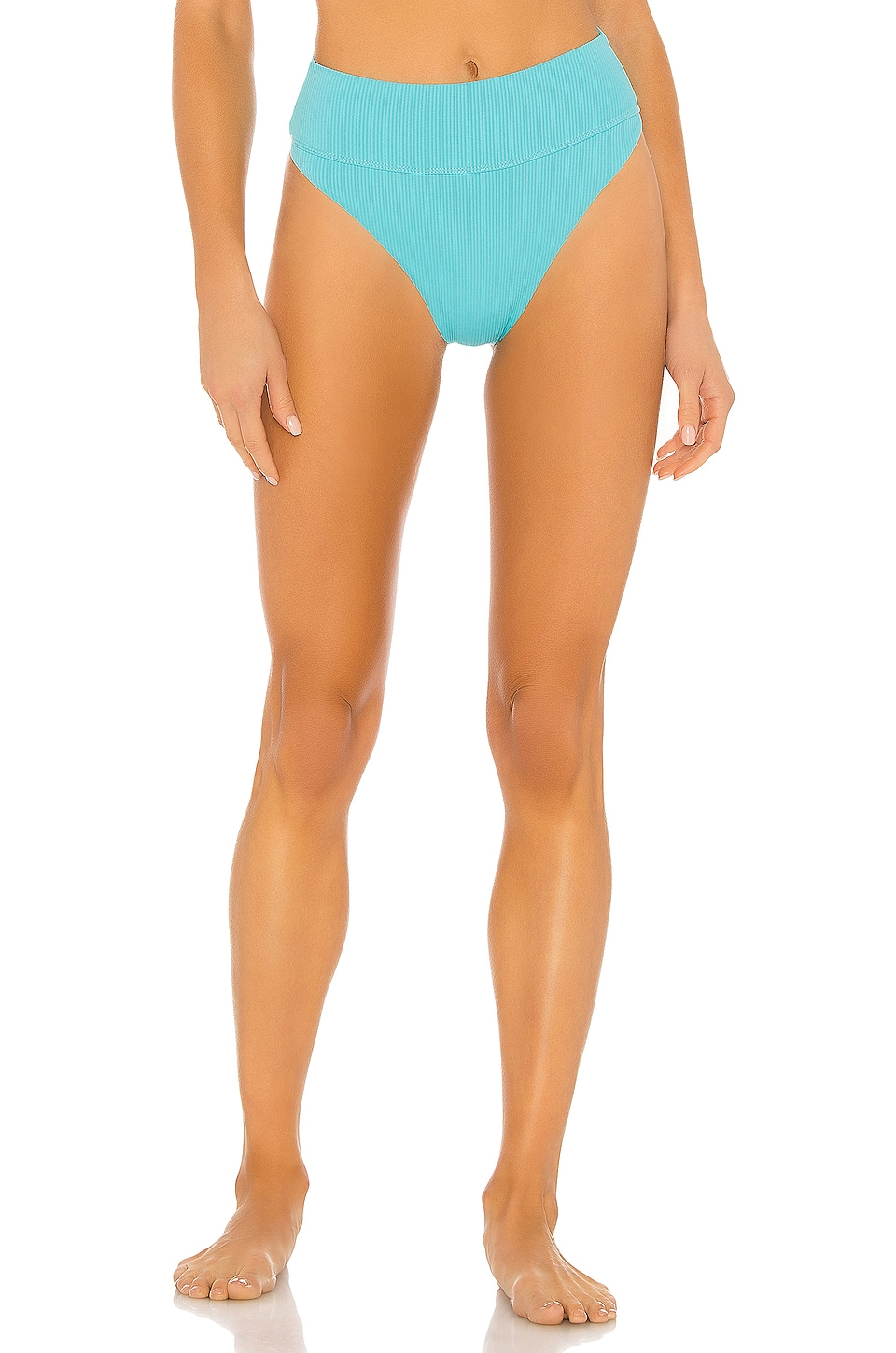 BEACH RIOT X REVOLVE Highway Bikini Bottom in Turquoise