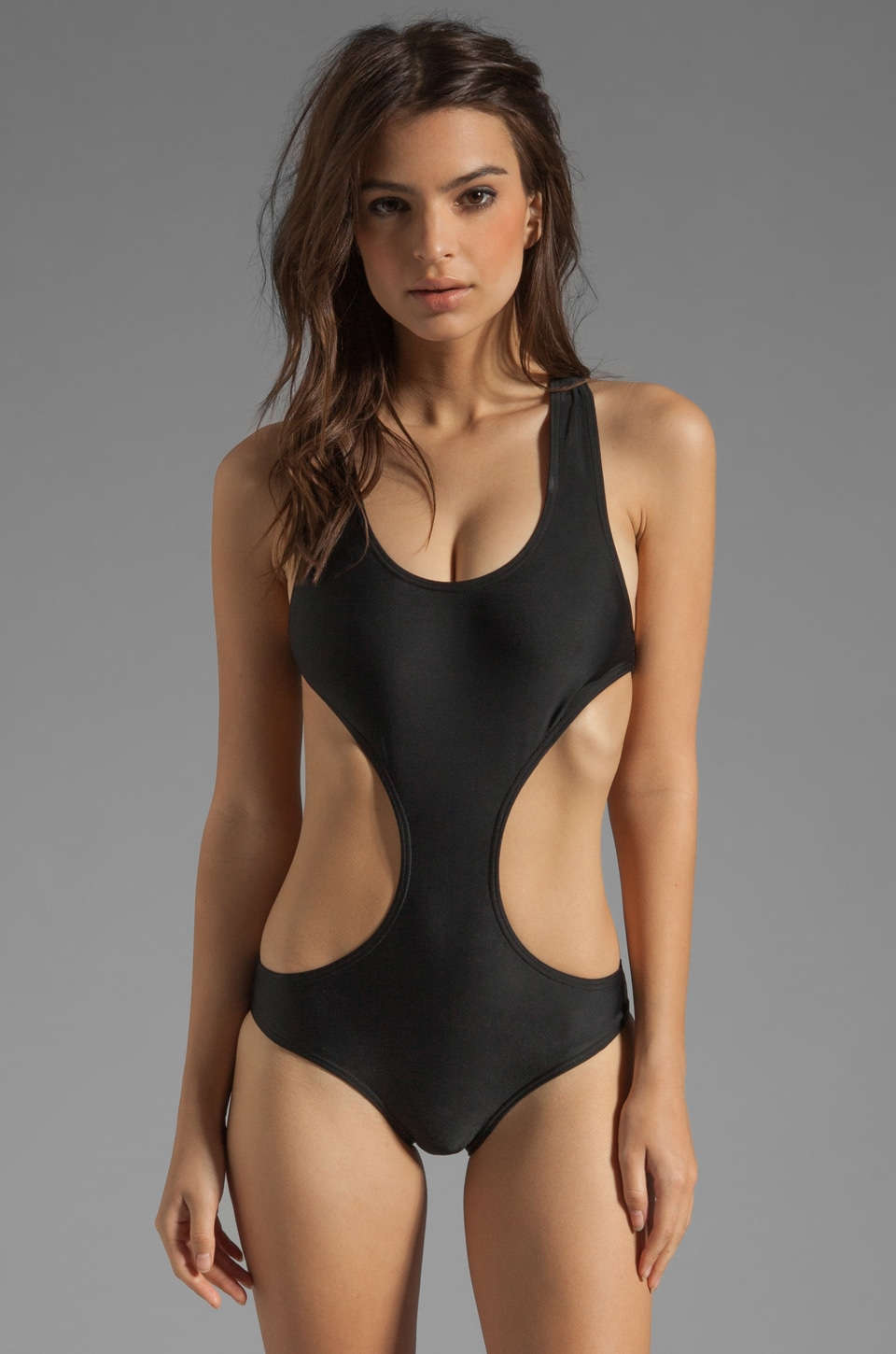 BEACH RIOT The Daydreamer One-piece in Black
