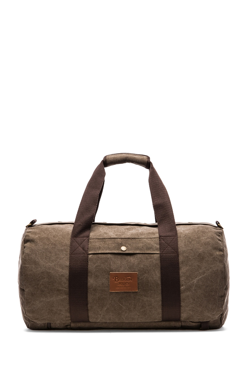 Brixton Bixby Duffle Bag in Taupe