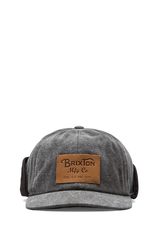 Brixton Flint Cap in Black
