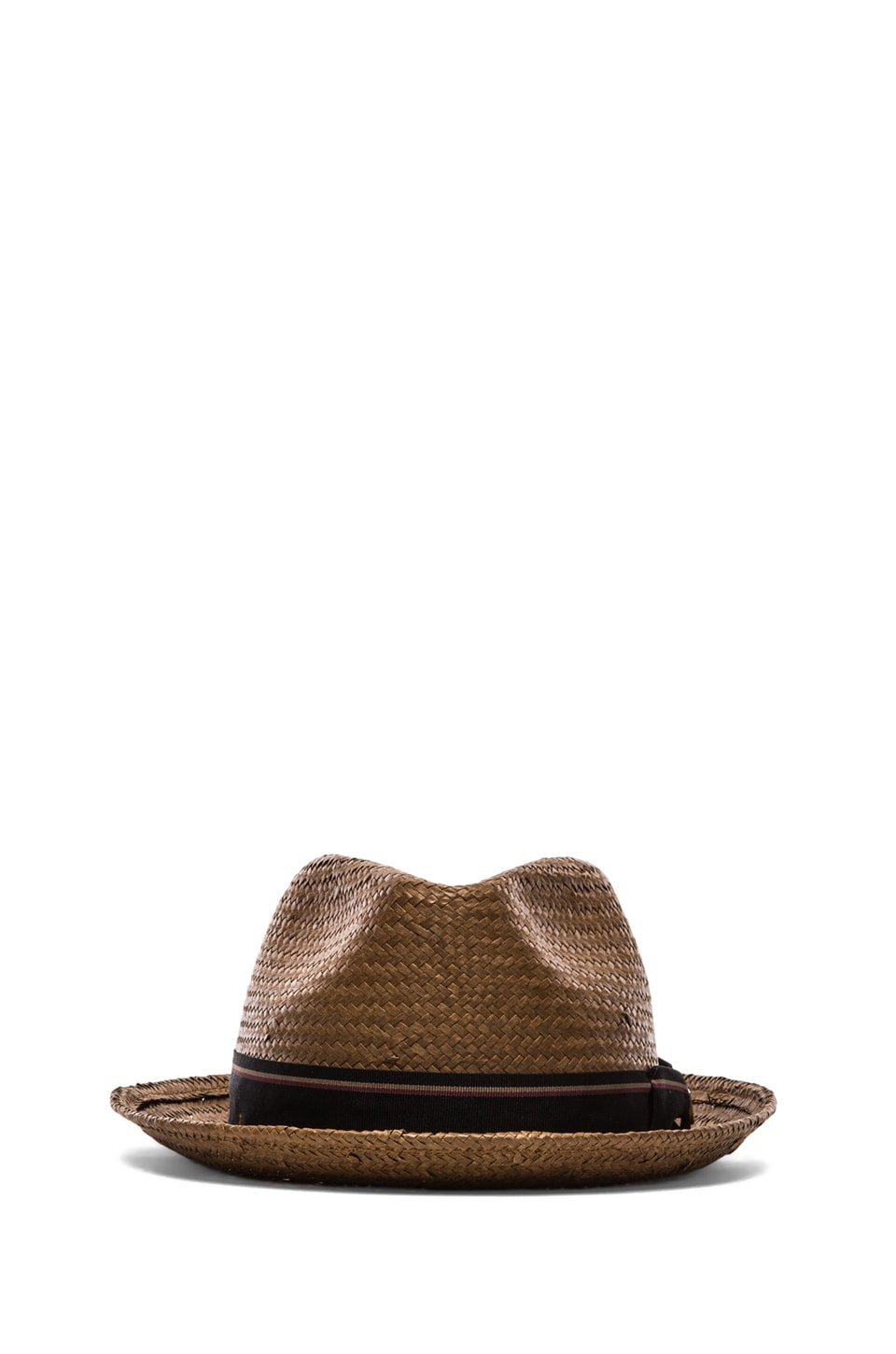 Brixton Castor Brown Straw Hat