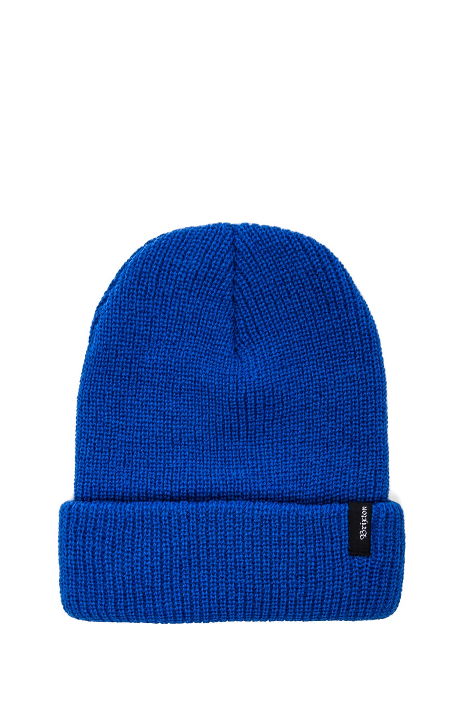 Brixton 2 Pack Heist Beanie in Electric Blue & Shale Brown