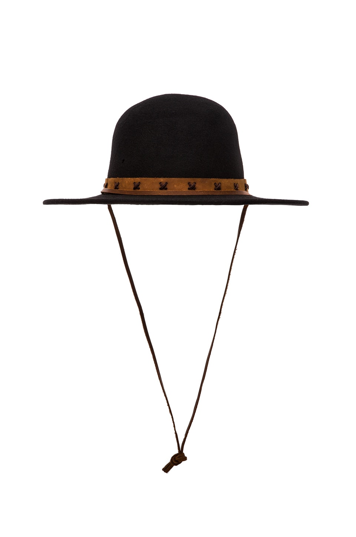 Brixton Tiller II Hat in Black & Tan