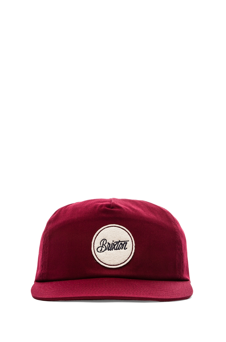Brixton Reed Cap in Burgundy