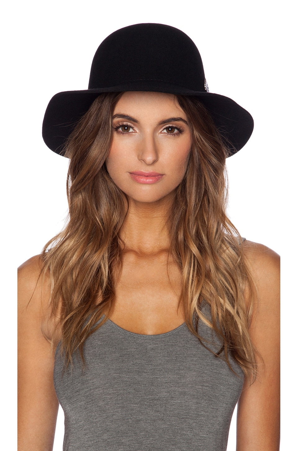 dbd59061 Brixton Cason Top Hat in Black | REVOLVE