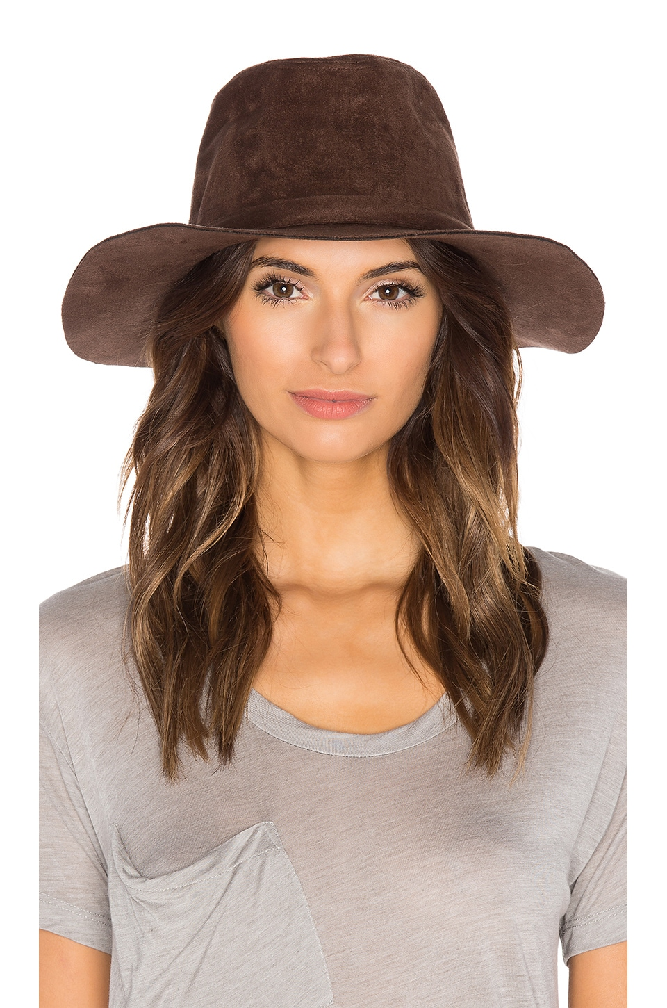 Brixton Highland Fedora in Brown