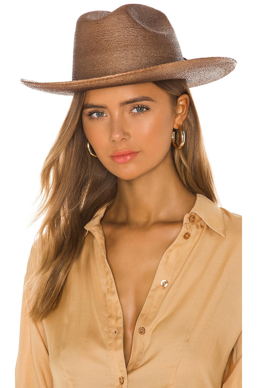 Brixton Vasquez Cowboy Hat in Brown