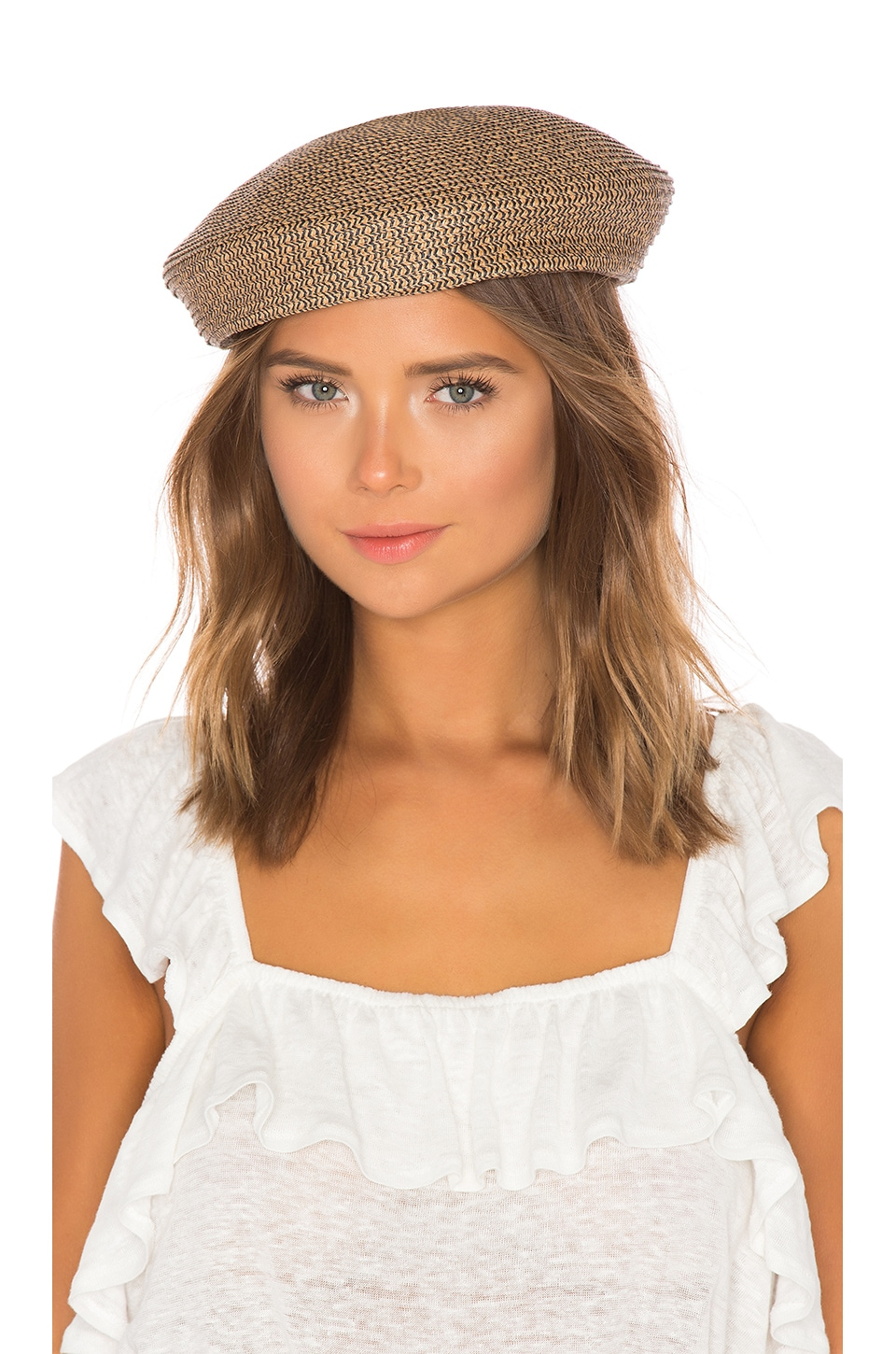 Audrey Straw Beret