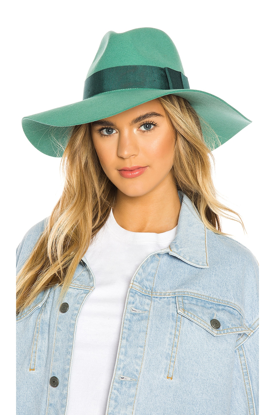 Brixton Piper Hat in Sea Green