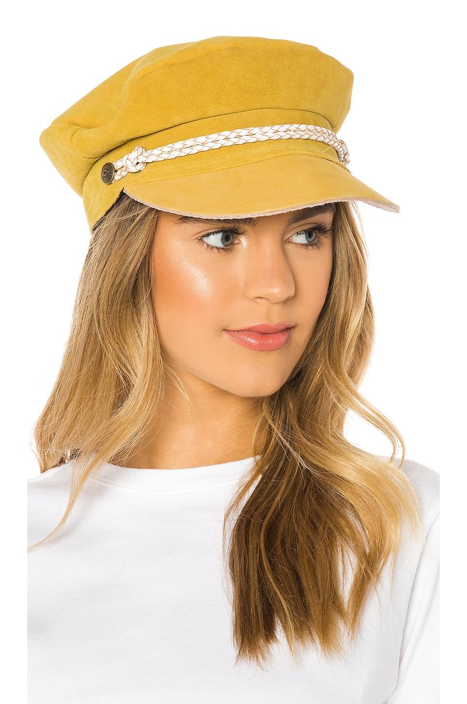 Brixton Kayla Cap in Mustard