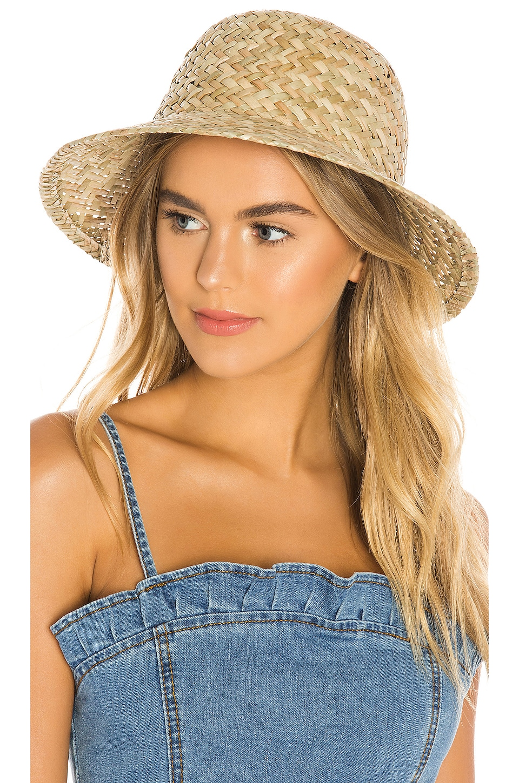 Brixton Kennedy Bucket Hat in Dark Tan