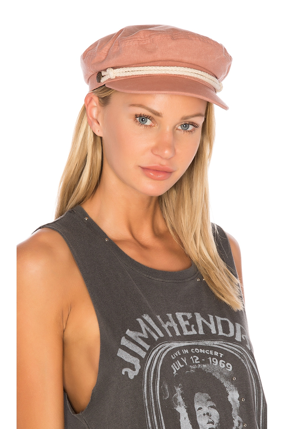Brixton Ashland Cap in Rose