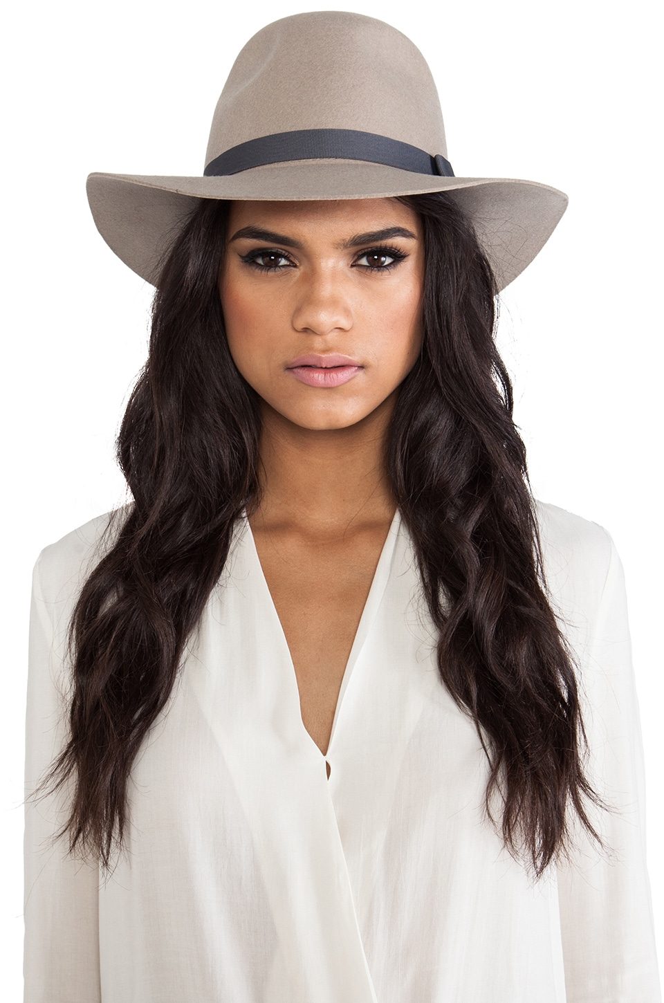 Brixton Dalila Hat in Tan
