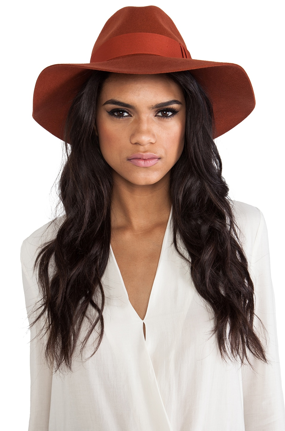 Brixton Piper Hat in Burnt Orange