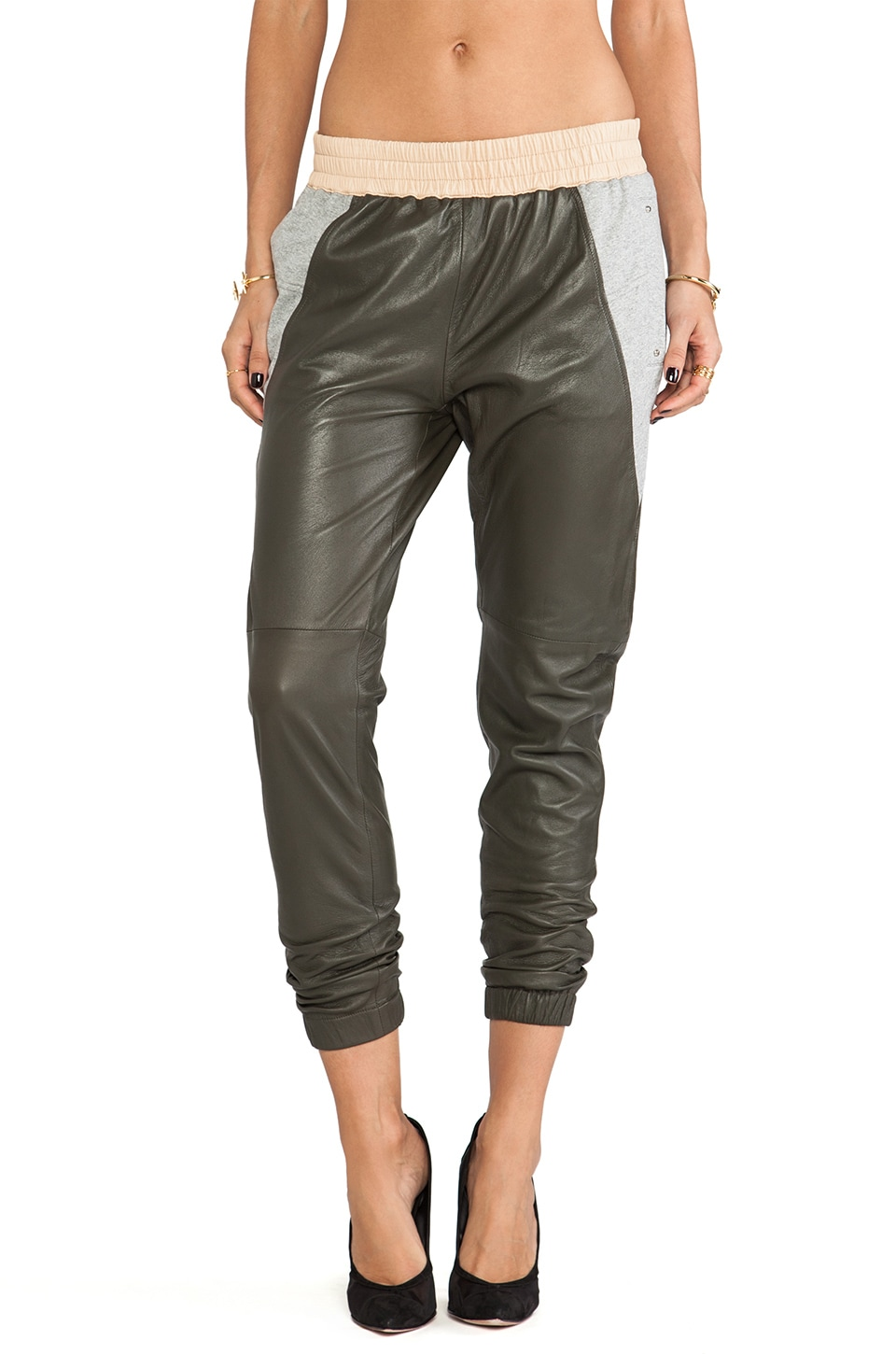 BROGDEN Slouch Pants in Army