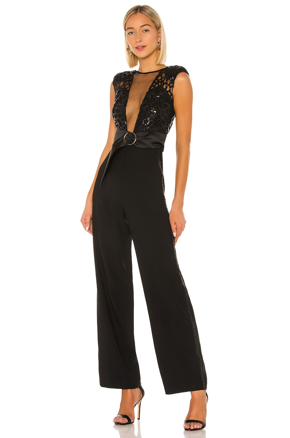 Bronx and Banco Spider Jumpsuit in Black